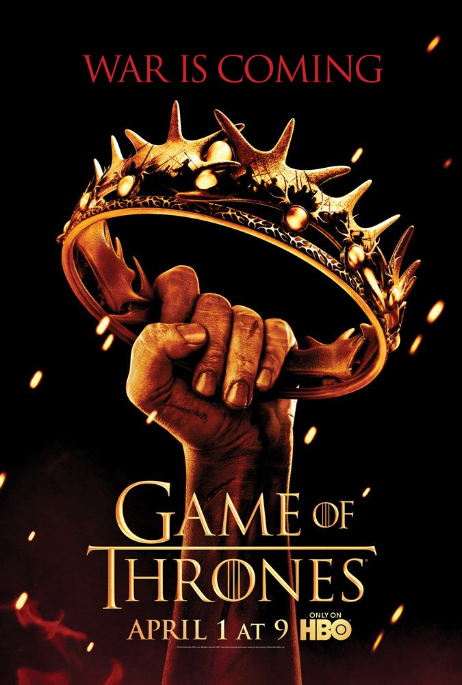 <strong><em>Game of Thrones</em></strong> Season 2 Poster
