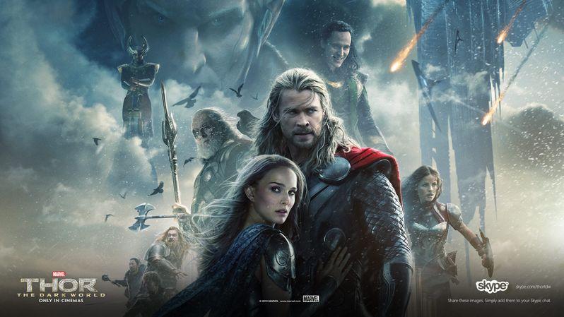 <strong><em>Thor: The Dark World</em></strong> Malekith the Accursed Skype Banner 4
