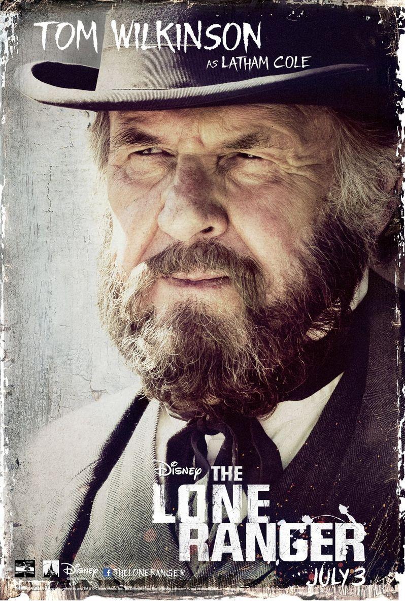 <strong><em>The Lone Ranger</em></strong> Tom Wilkinson Poster