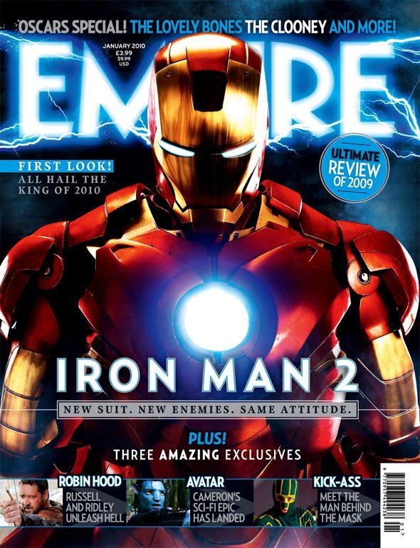 <strong><em>Iron Man 2</em></strong> Empire Magazine Cover