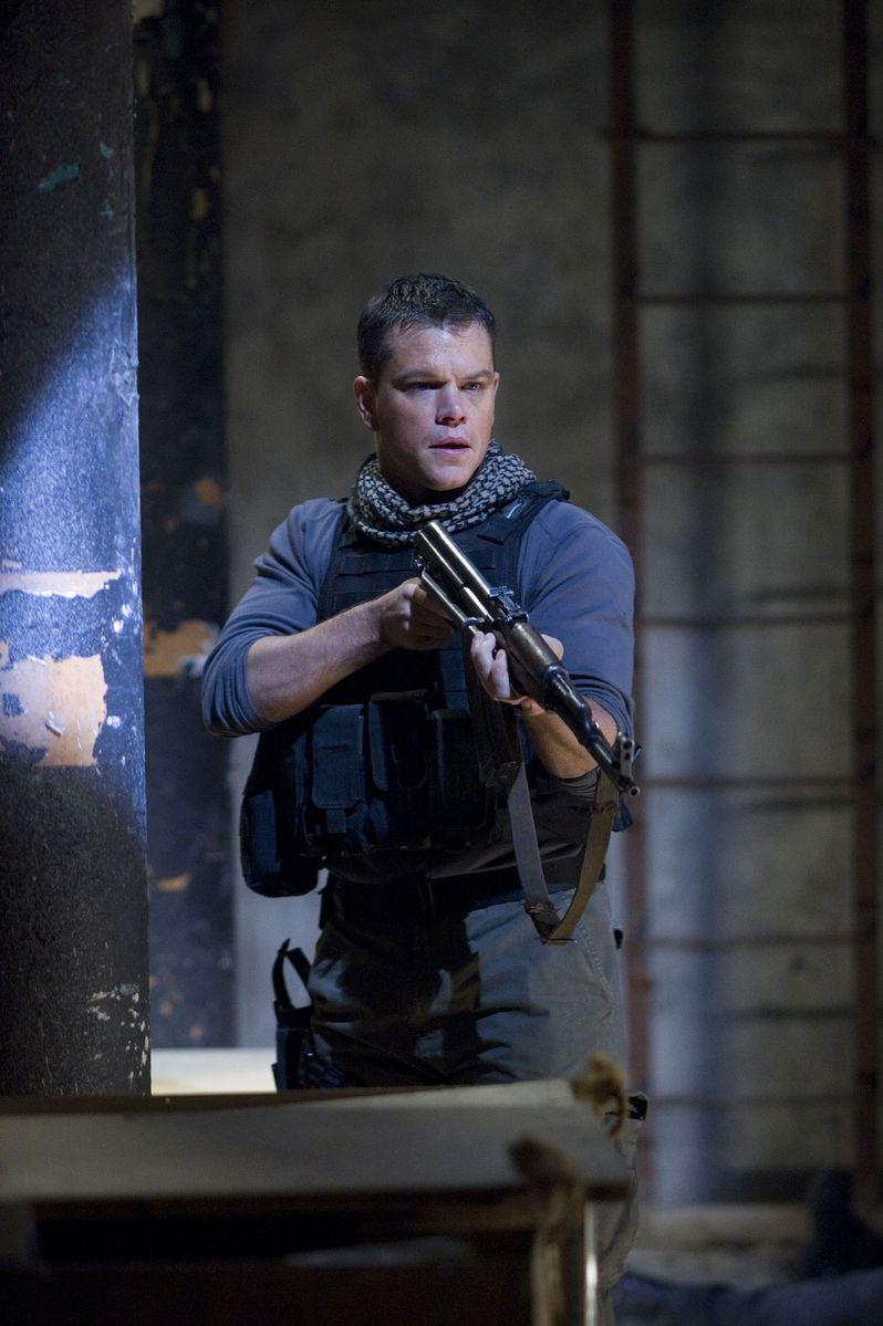 Matt Damon stars as Chief Warrant Officer Roy Miller