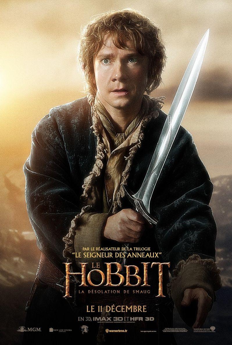 <strong><em>The Hobbit: The Desolation of Smaug</em></strong> Bilbo Baggins Poster