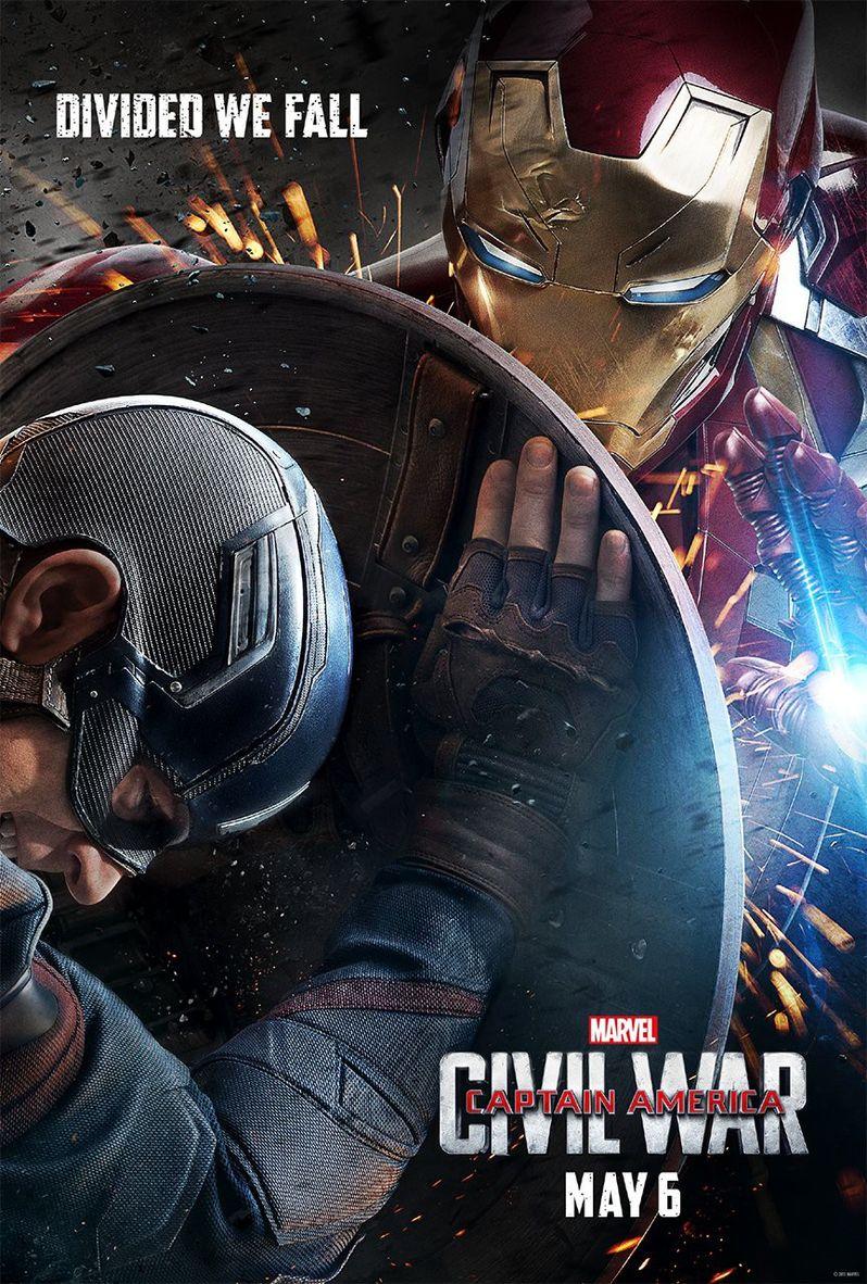Captain America Civil War Poster #3