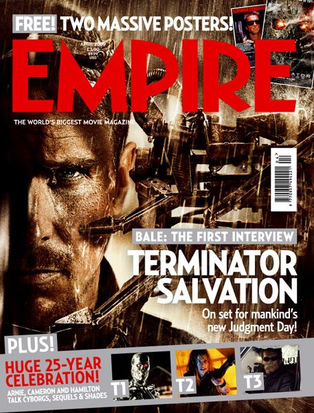 <strong><em>Terminator Salvation</em></strong> Empire Magazine #2