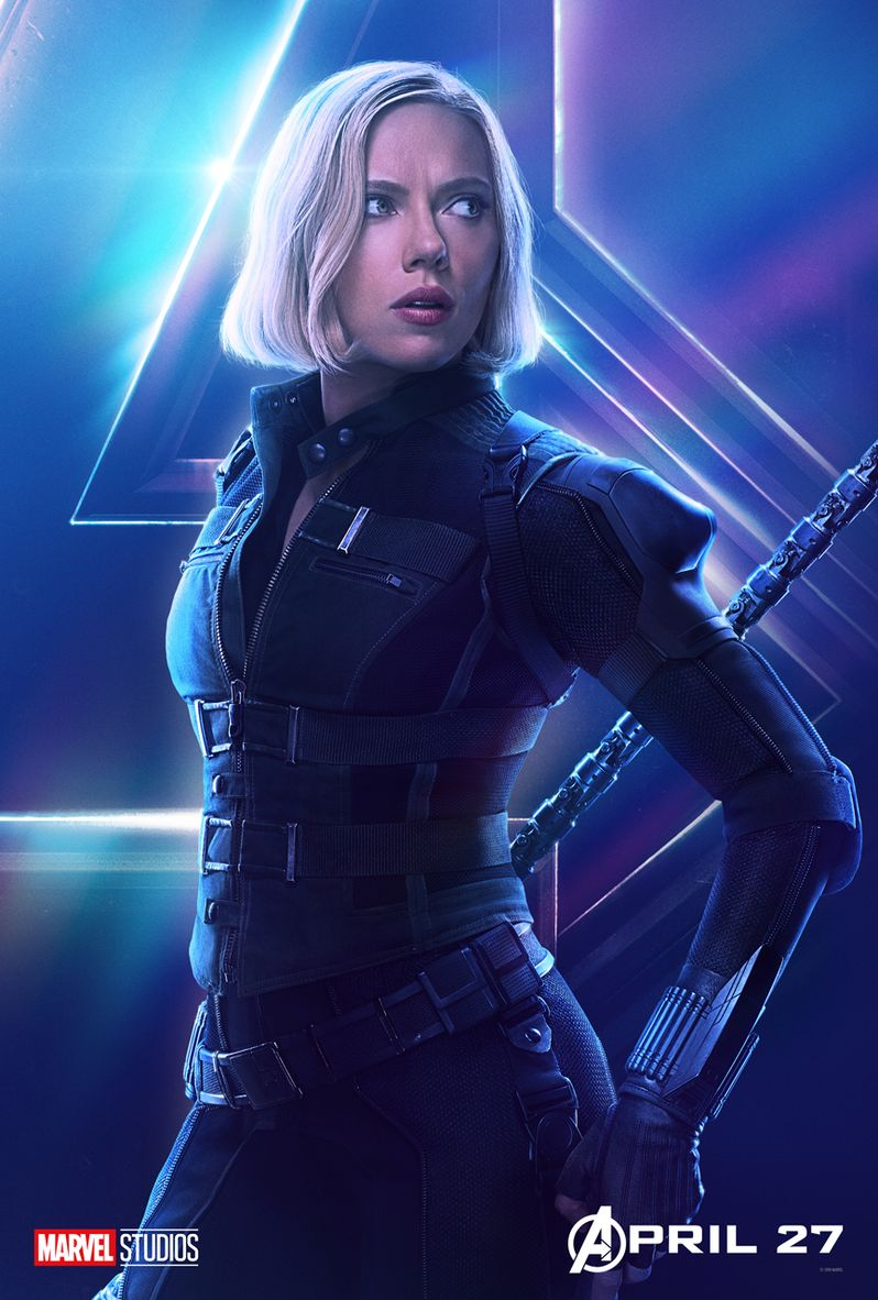 Avengers Infinity War Character Poster #3