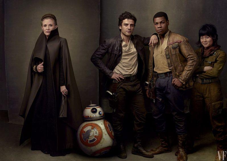 Star Wars The Last Jedi Cast Photo