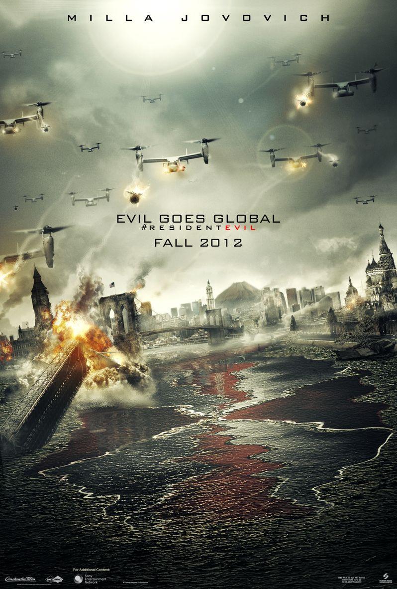<strong><em>Resident Evil: Retribution</em></strong> Poster