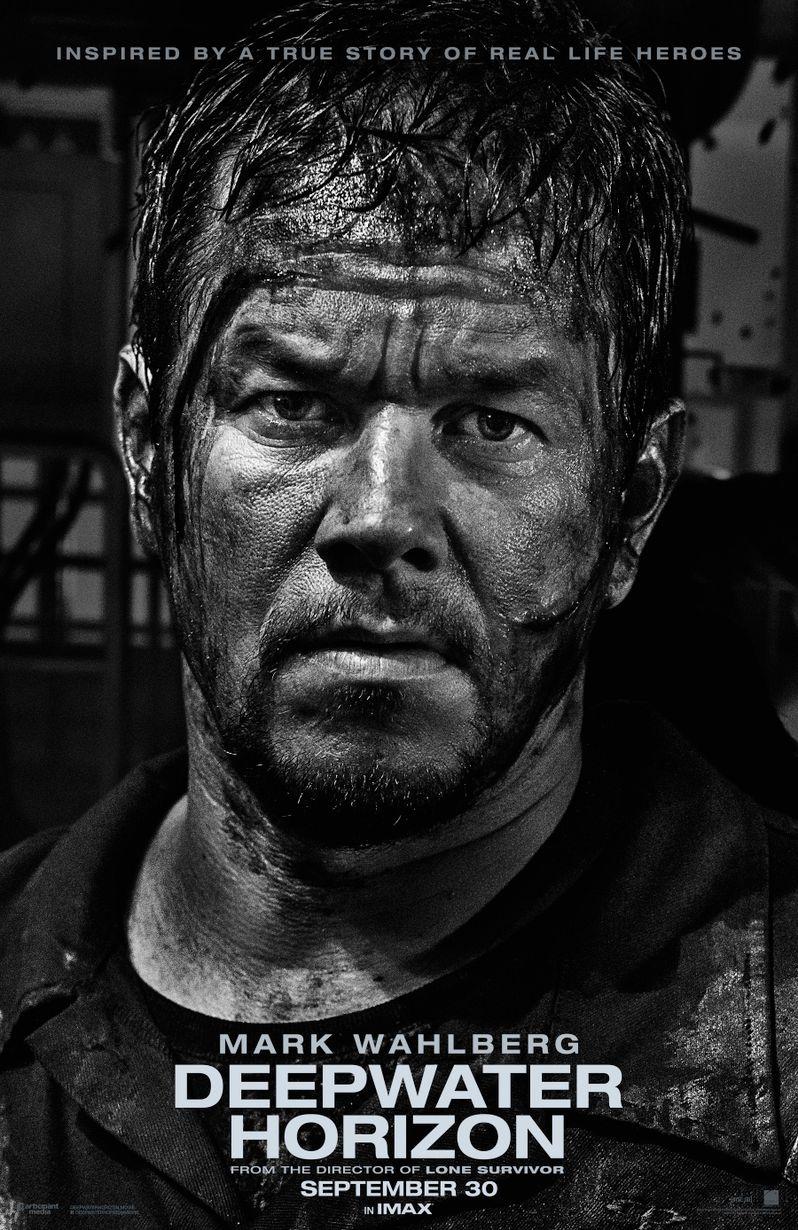 <strong><em>Deepwater Horizon</em></strong> Mark Wahlberg Poster
