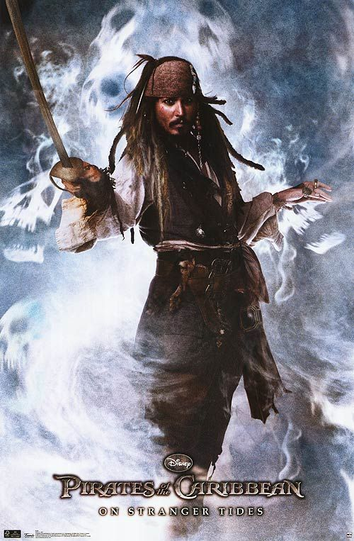 <strong><em>Pirates of the Caribbean: On Stranger Tides</em></strong> Poster #1
