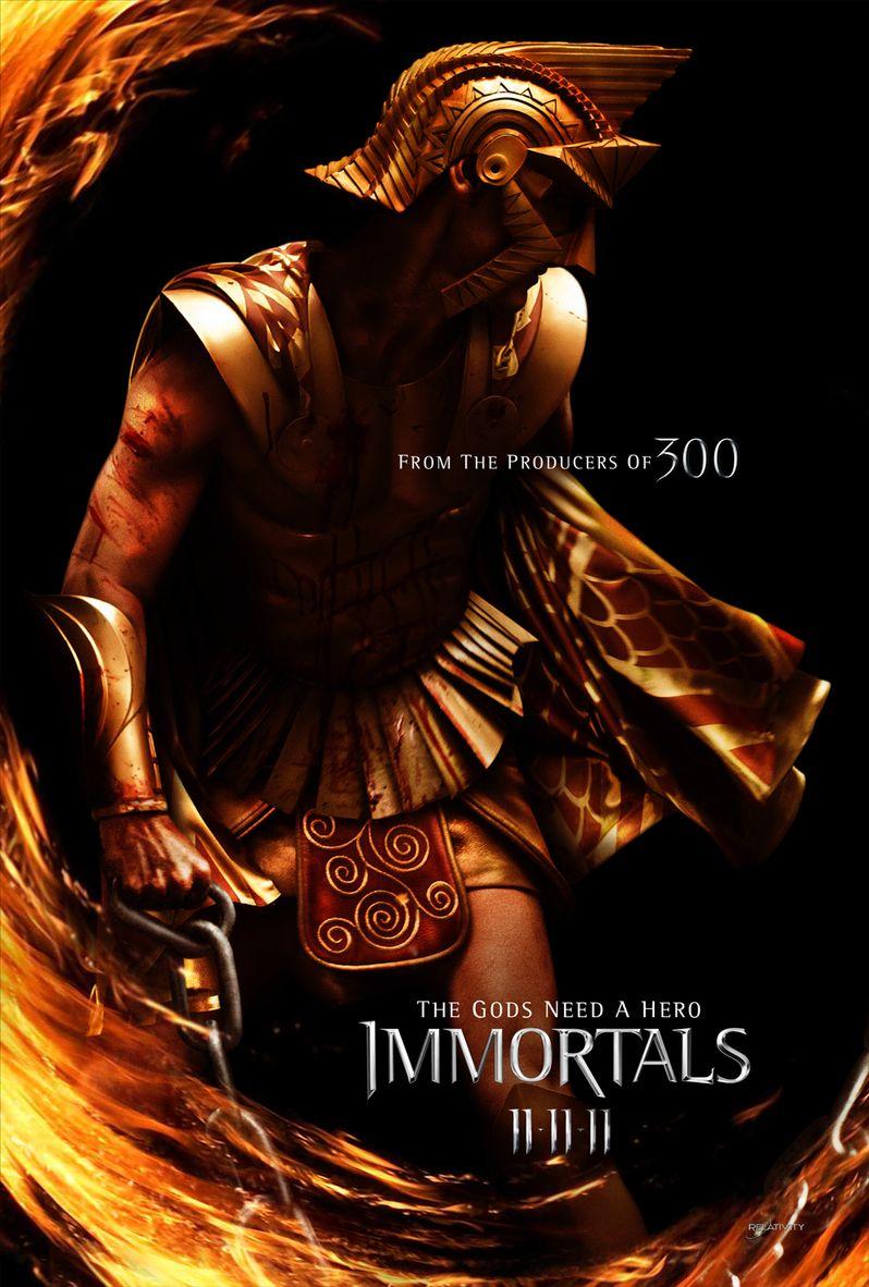 <strong><em>Immortals</em></strong> Poster #2