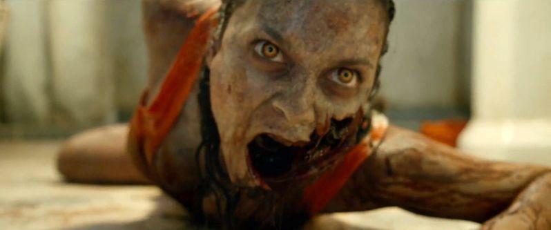 No one is safe from the Deadites on the set of Fede Alvarez's <strong><em>Evil Dead</em></strong> remake