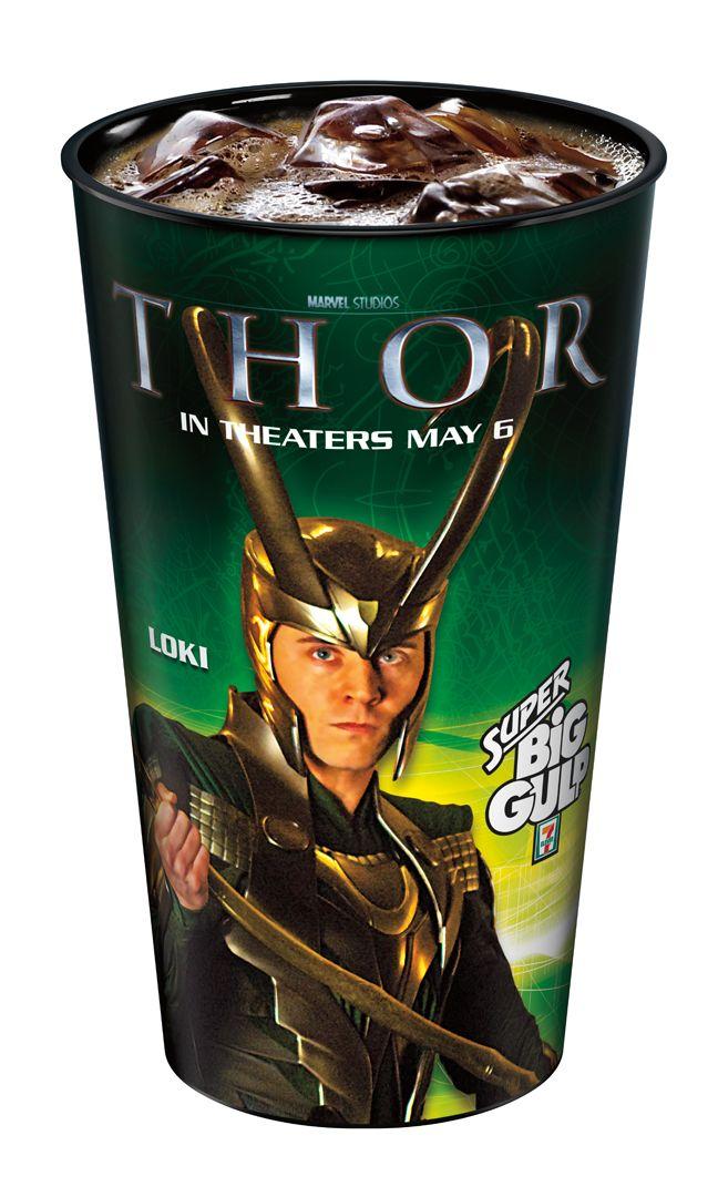 <strong><em>Thor</em></strong> Slurpee Photos #3