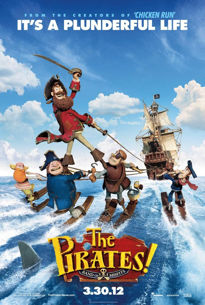 The Pirates! Poster