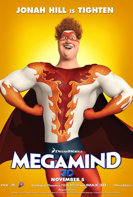 Megamind Jonah Hill Character Poster