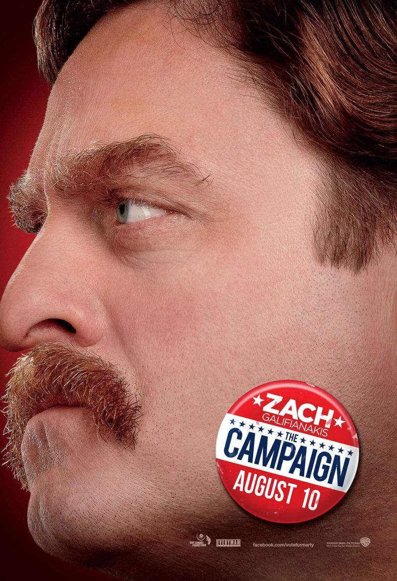 <strong><em>The Campaign</em></strong> Nose-to-Nose Poster #2