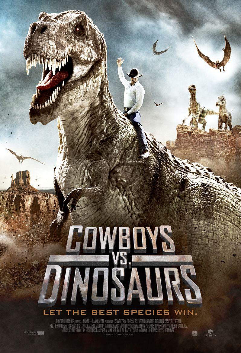 <strong><em>Cowboys Vs Dinosaurs</em></strong> poster
