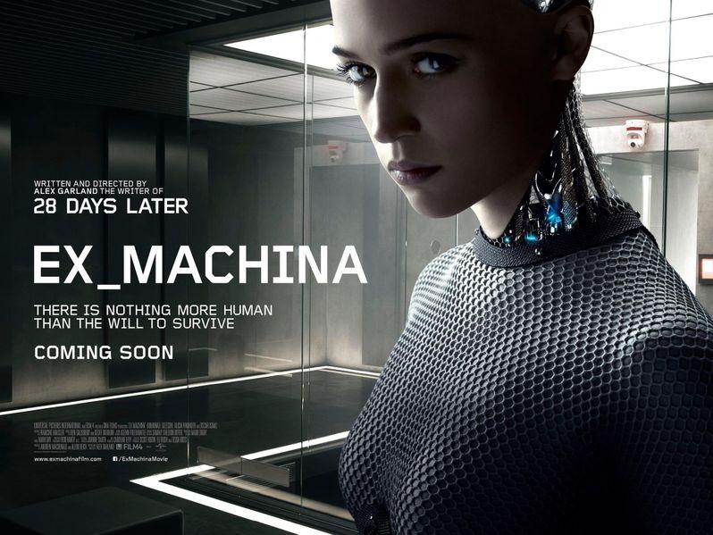 <strong><em>Ex Machina</em></strong> Poster