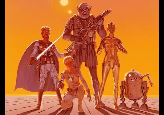 The Star Wars Comic Book Artwork 3