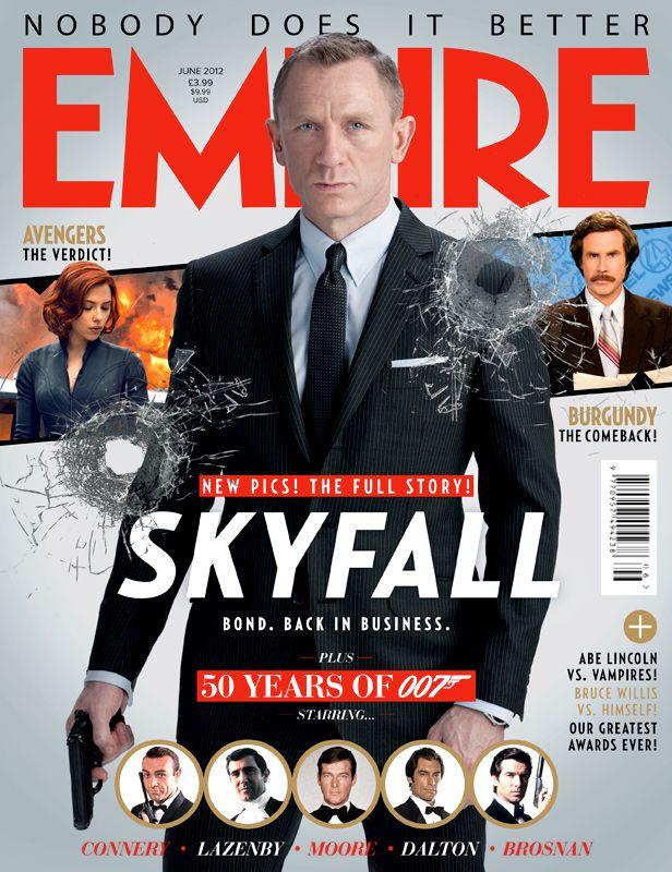 <strong><em>Skyfall</em></strong> Empire Magazine Cover #1