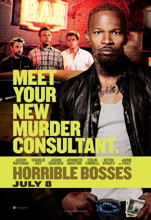 <strong><em>Horrible Bosses</em></strong> Jamie Foxx Poster