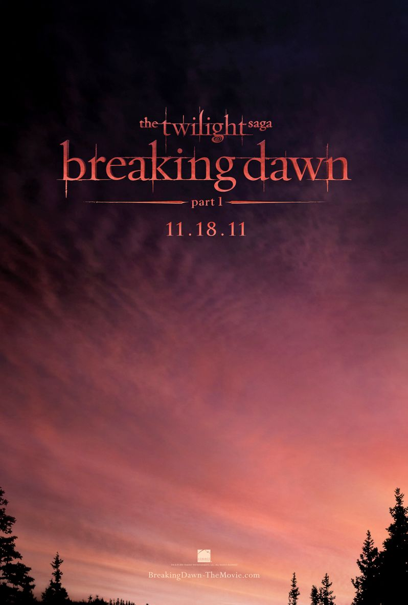 <strong><em>The Twilight Saga: Breaking Dawn - Part 1</em></strong> Poster