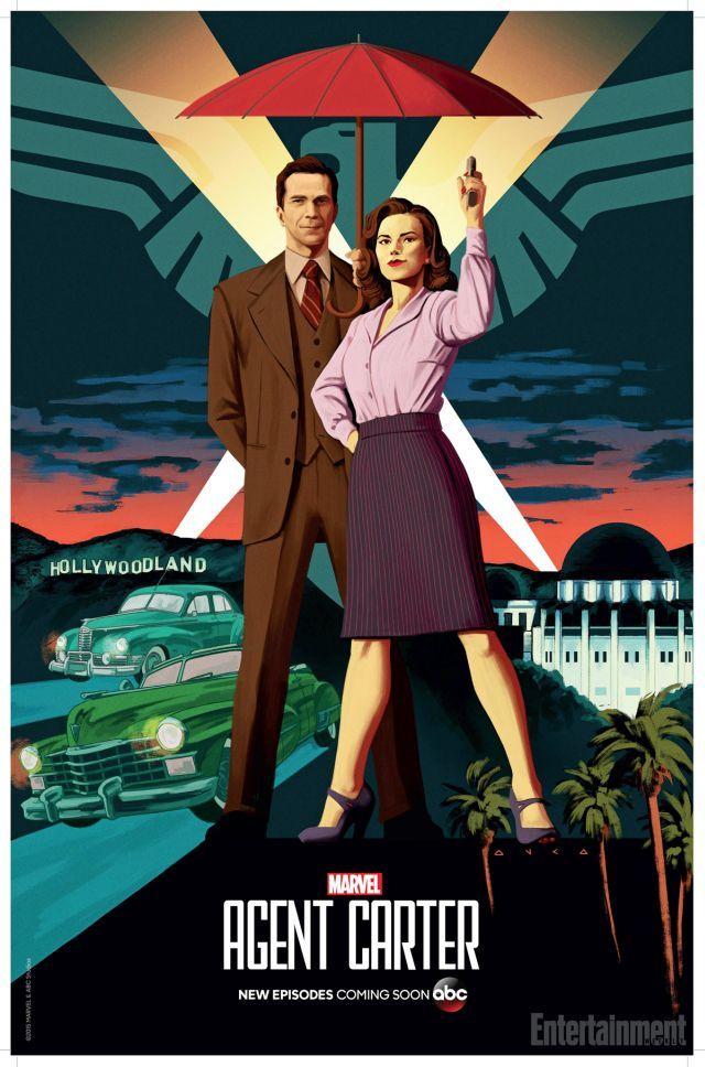 Agent Carter Season 2 Comic-Con Poster