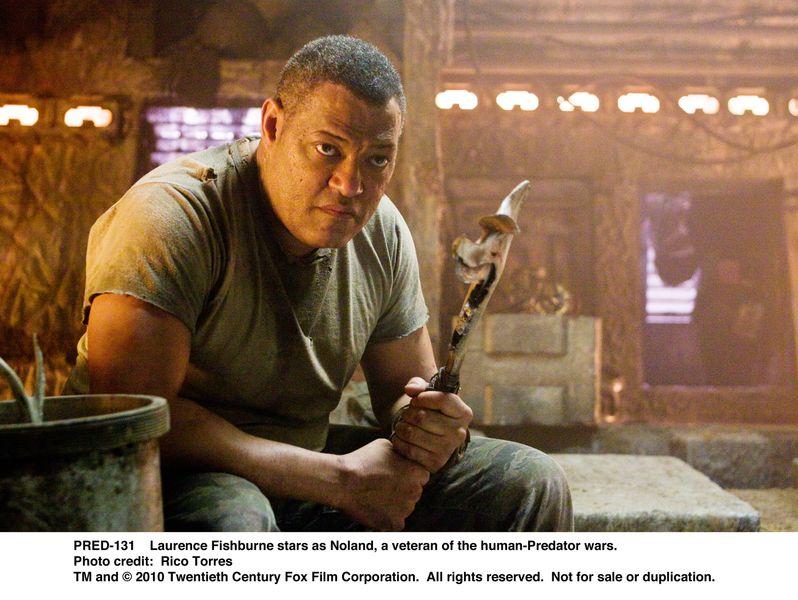 <strong><em>Predators</em></strong>' Laurnence Fishburne as Noland