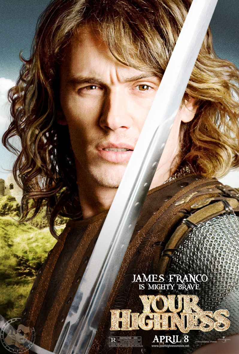 <strong><em>Your Highness</em></strong> James Franco Character Poster