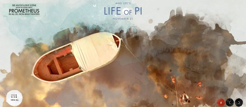 <strong><em>Life of Pi</em></strong> Banner #2