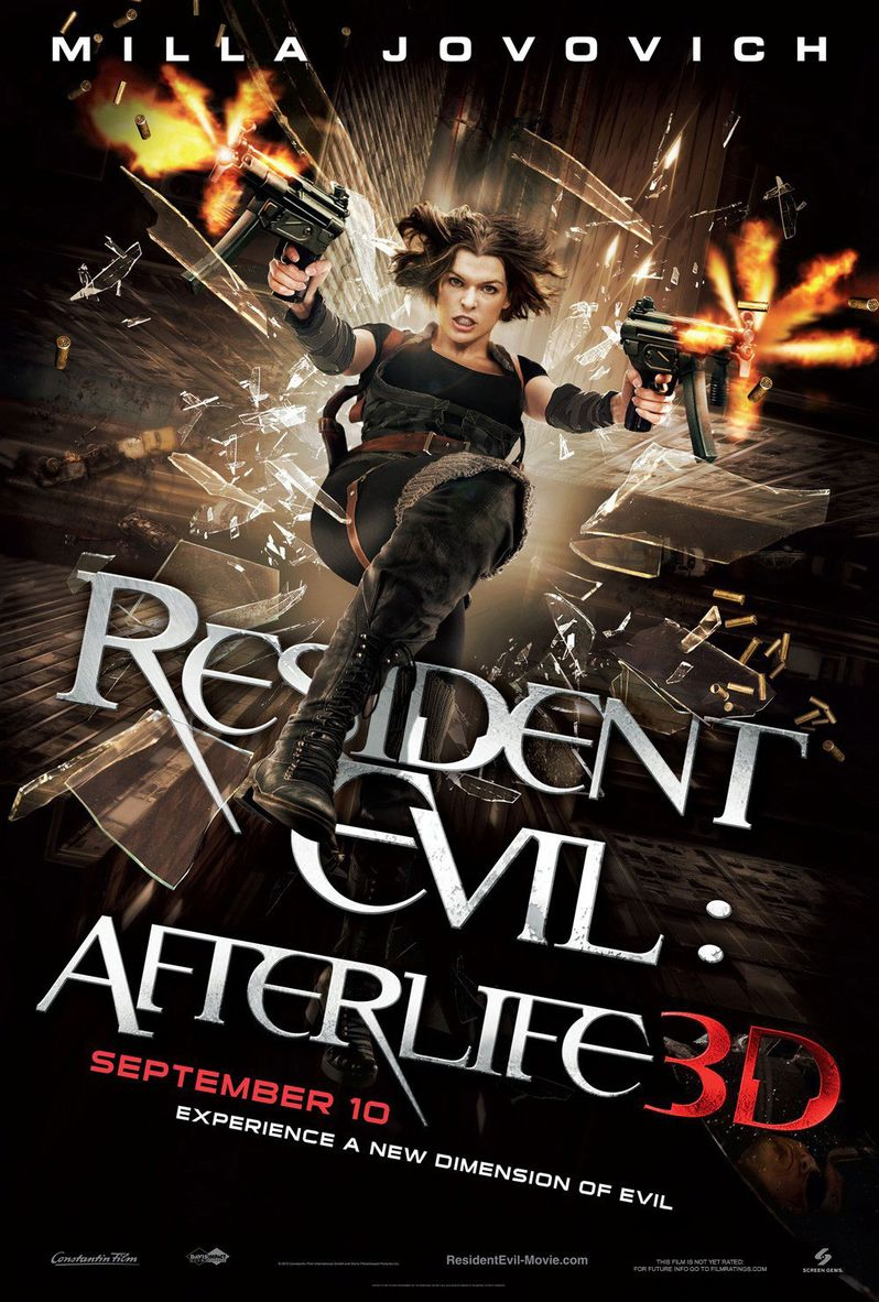 <strong><em>Resident Evil: Afterlife</em></strong> 3D Poster