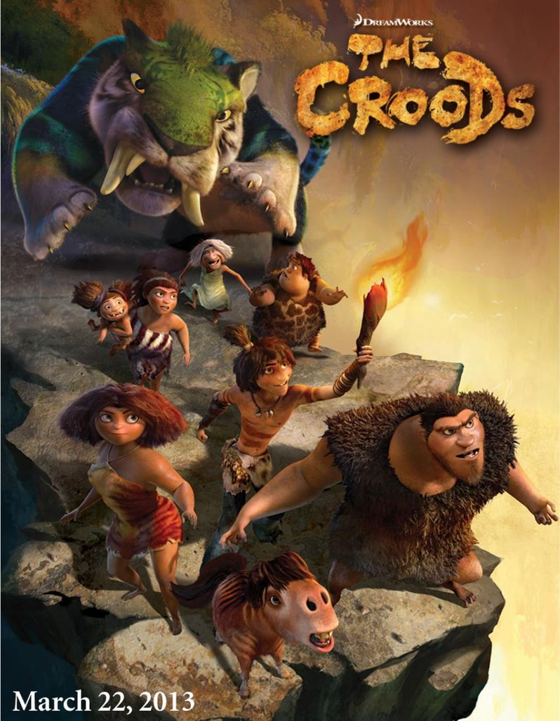 <strong><em>The Croods</em></strong> Promo Artwork