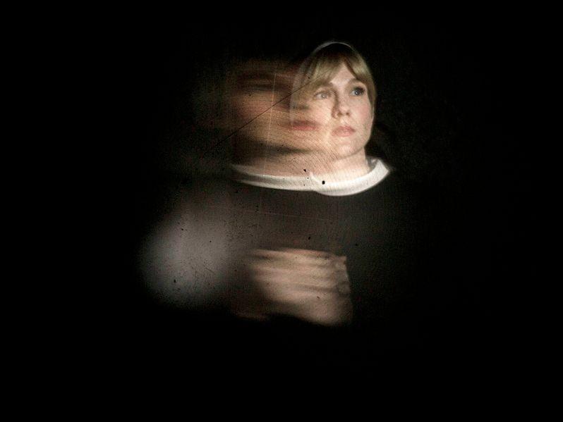 <strong><em>American Horror Story</em></strong>: Asylum Lily Rabe Photo
