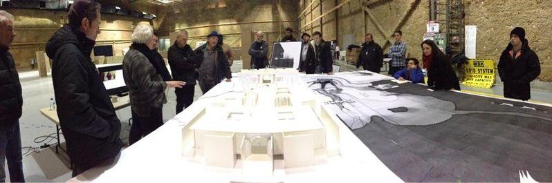 <strong><em>X-Men: Days of Future Past</em></strong> Pre-Production Set Design Photo