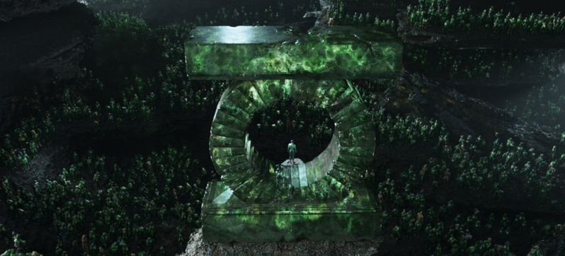 <strong><em>Green Lantern</em></strong> Logo Photo
