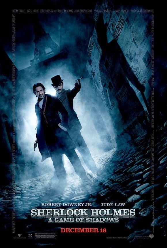 <strong><em>Sherlock Holmes: A Game of Shadows</em></strong> Poster
