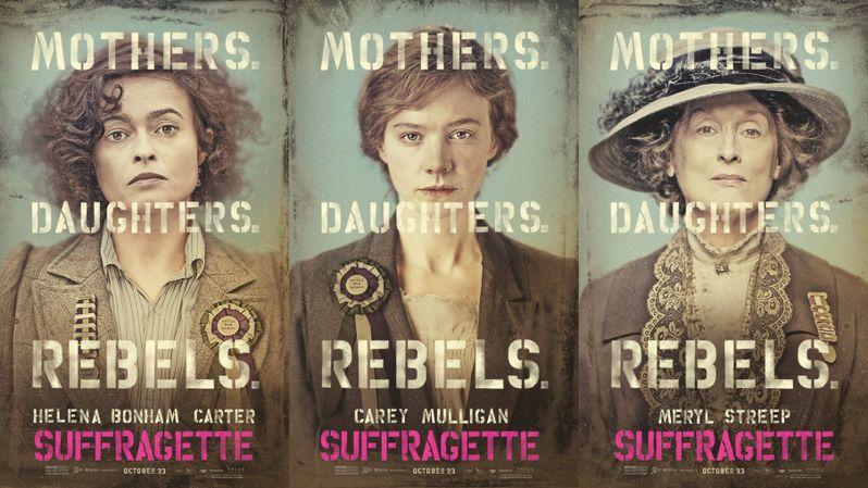 <strong><em>Suffragette</em></strong> Poster