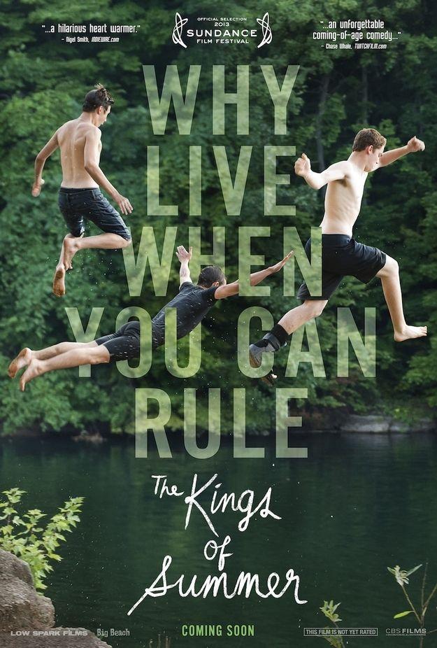 Kings of Summer Festival Poster