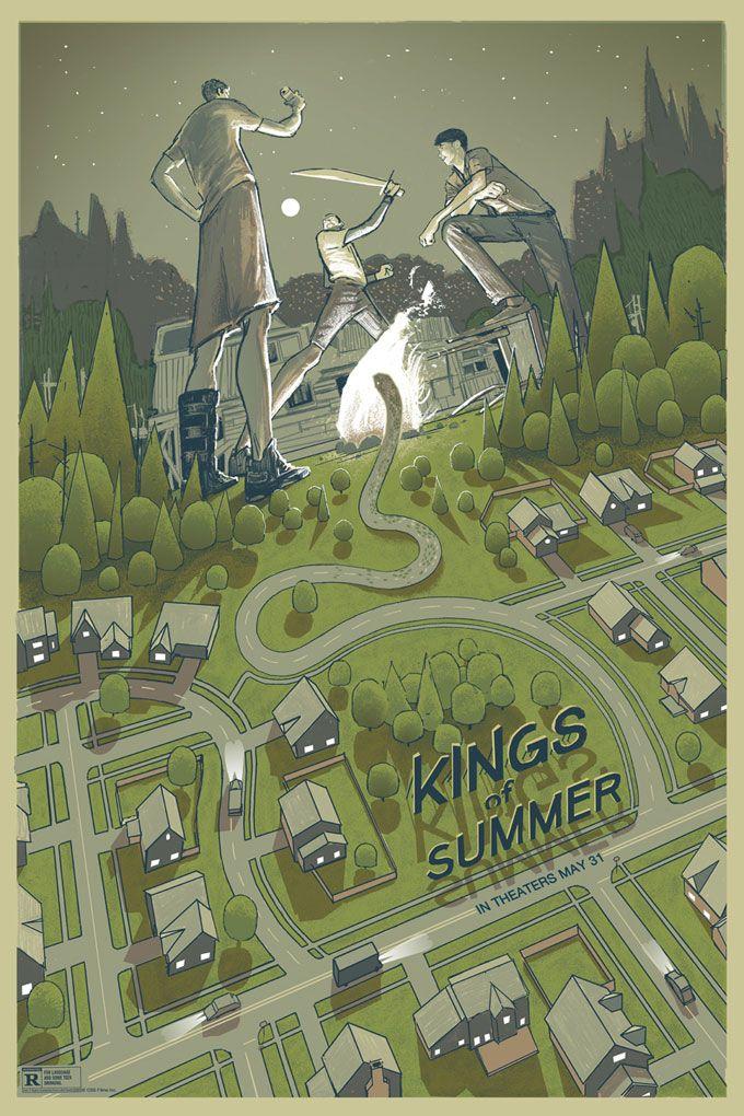 <strong><em>The Kings of Summer</em></strong> Alternate Poster 1
