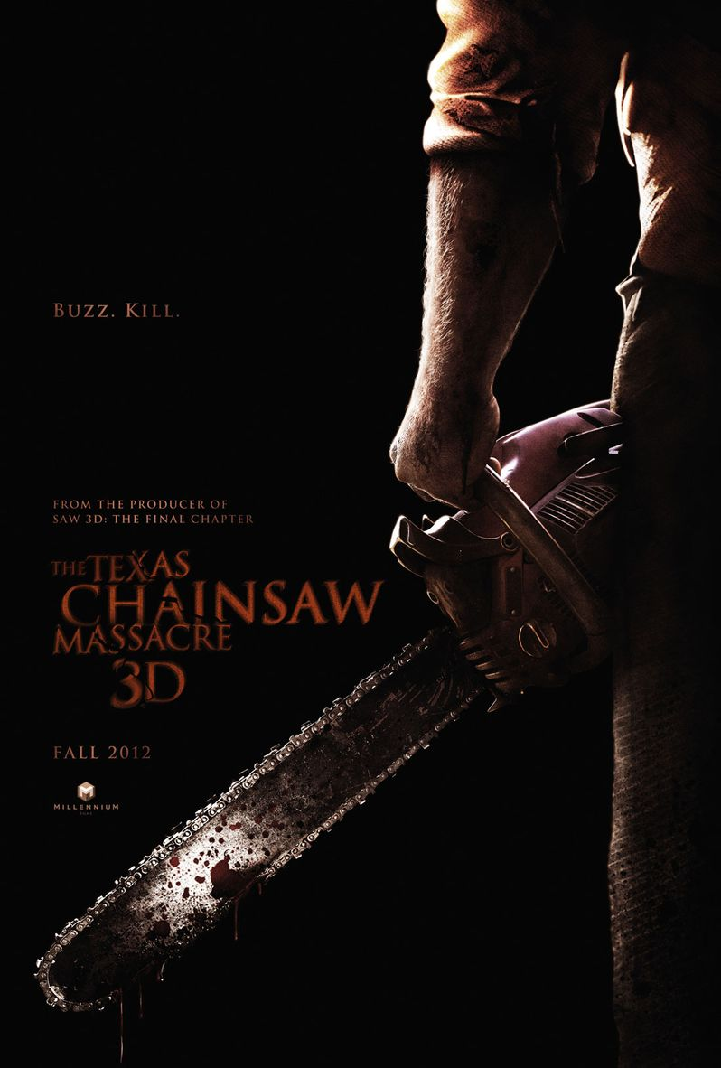 The Texas Chainsaw Masssacre 3D Poster