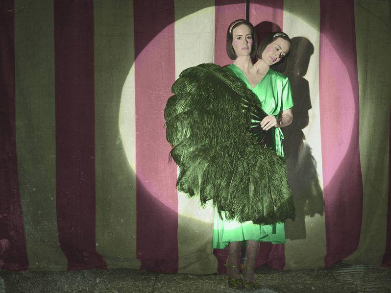 <strong><em>American Horror Story</em></strong> Freak Show Sarah Paulson Character Photo
