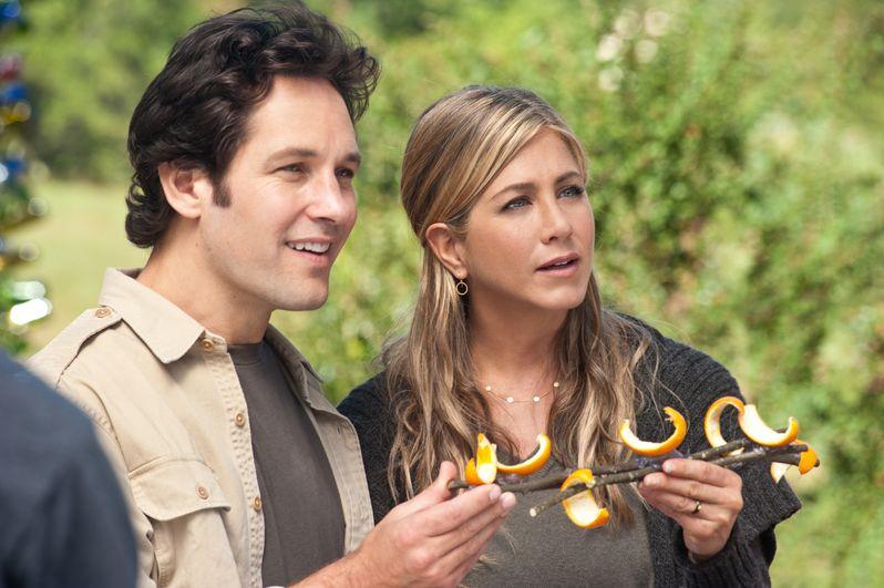 Paul Rudd and Jennifer Aniston in <strong><em>Wanderlust</em></strong>