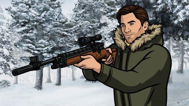 Timothy Olyphant in <strong><em>Archer</em></strong>