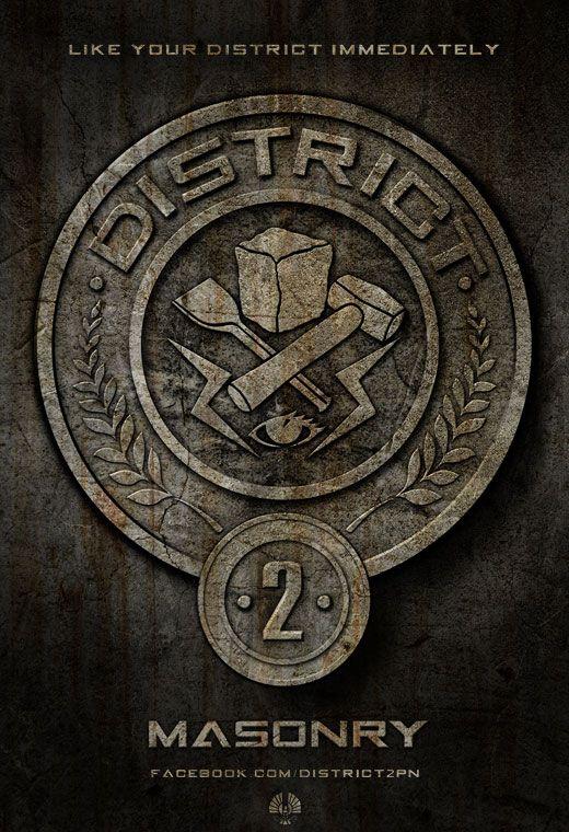 <strong><em>The Hunger Games</em></strong> District 2 Poster
