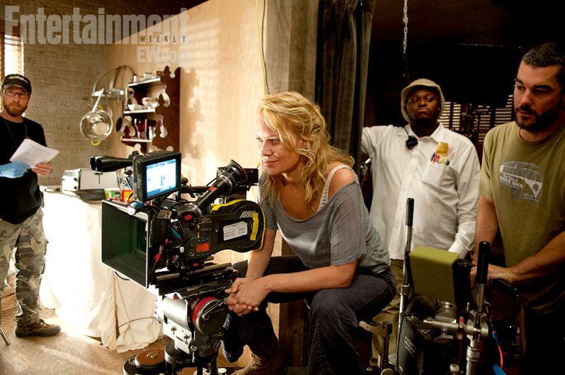 Walking Dead Season 3 behind-the-scenes Photo 1