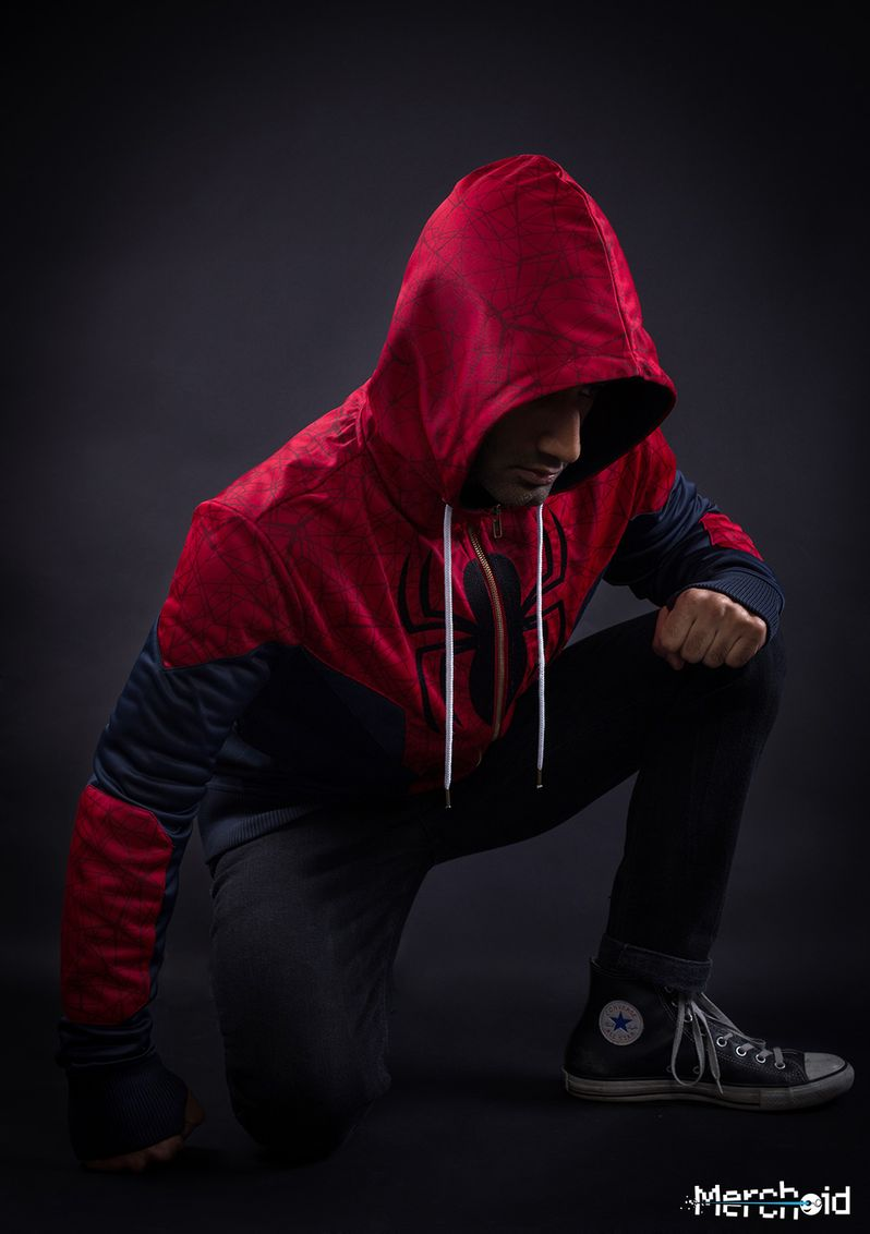 Spiderman Hoodie Marvel Merchoid #6