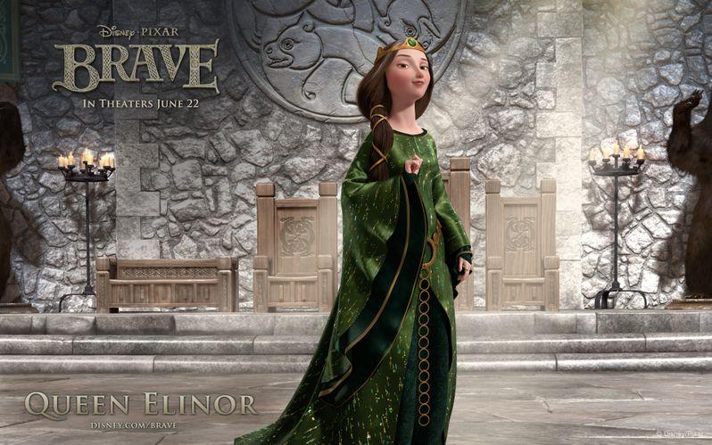 <strong><em>Brave</em></strong> Queen Elinor Desktop