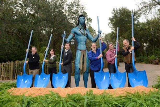 <strong><em>Avatar</em></strong> Land Groundbreaking Ceremony Photo 1