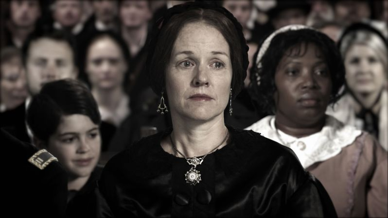 Penelope Ann Miller talks about playing Mary Todd Lincoln in <strong><em>Saving Lincoln</em></strong>