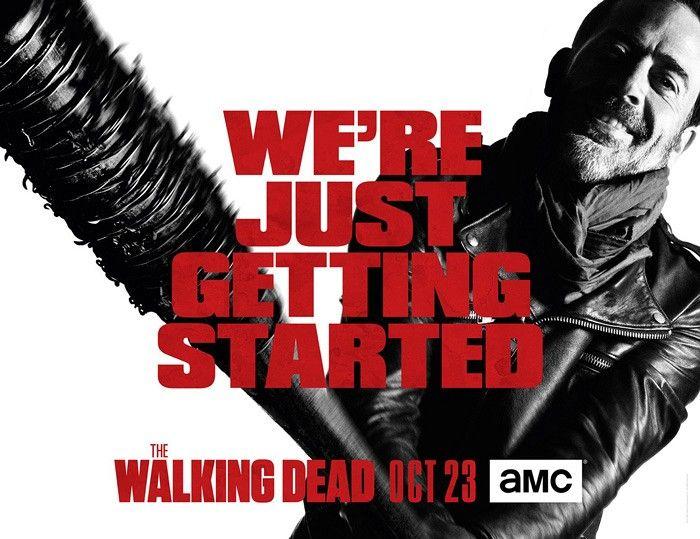 <strong><em>The Walking Dead</em></strong> Season 7 Negan Poster
