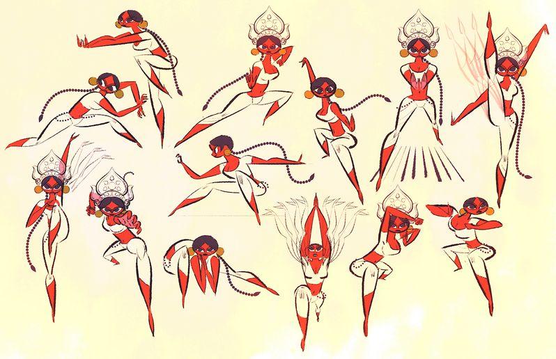 Sanjay's Super Team Concept Art 8